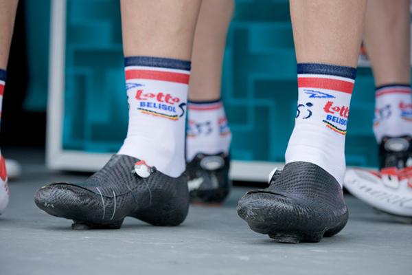 Gli scarpini in carbonio di Adam Hansen