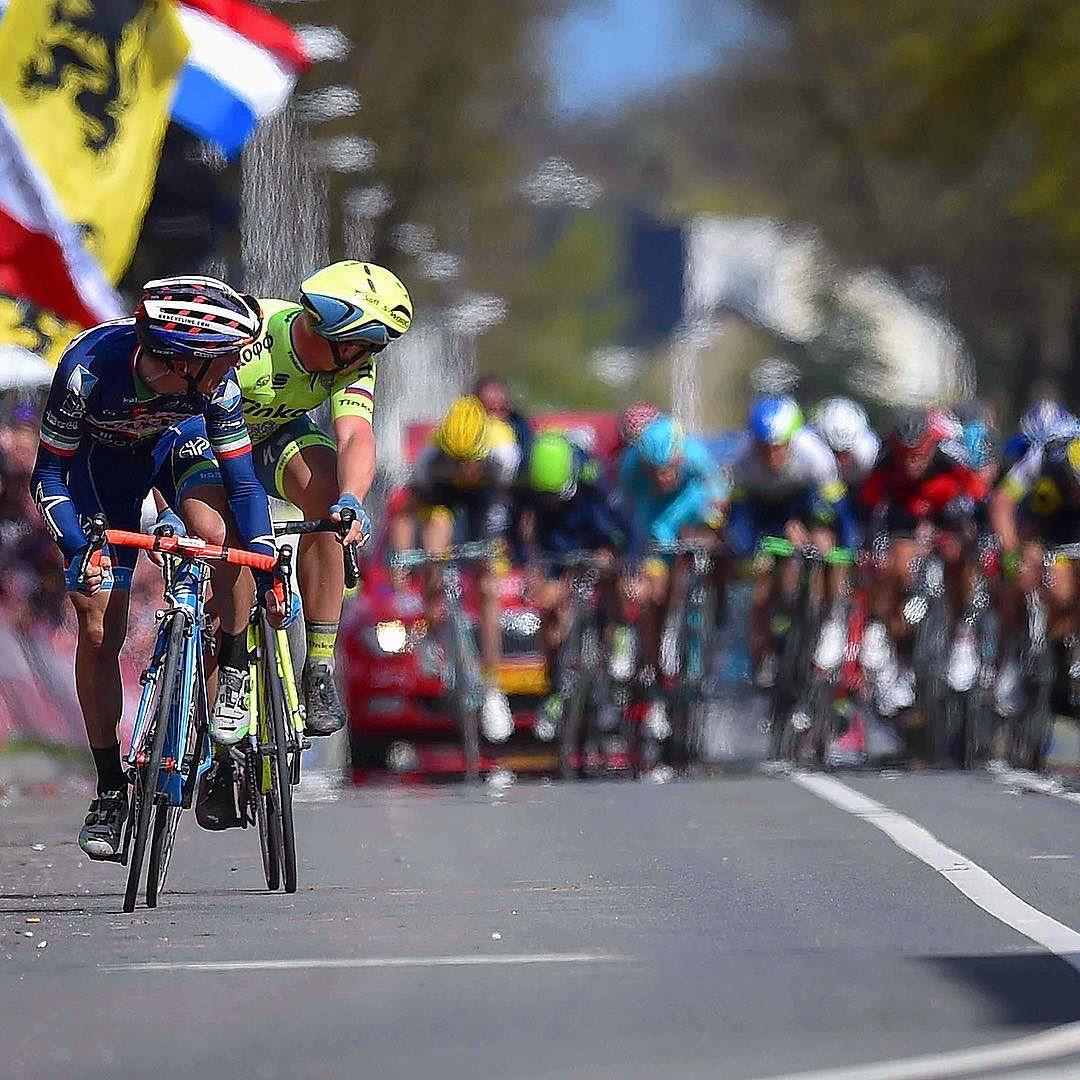 Enrico Gasparotto alla Amstel gold Race 2016