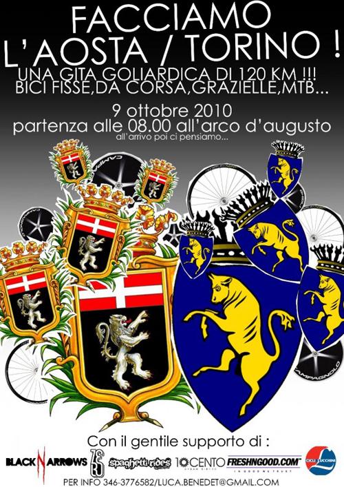 Manifesto dell'Aosta Torino