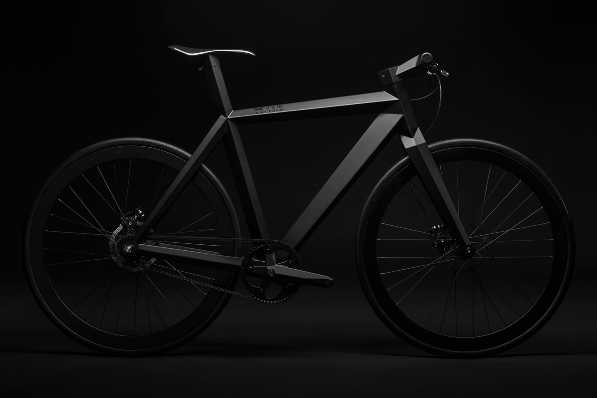 B-9 NH Black Edition Urban Stealth Bicycle di BME Design