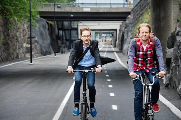 Il Baana Bicycle Corridor di Helsinki