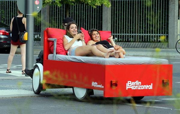 Il letto bici di Berlin Horizontal