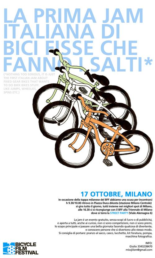 Il poster dell'evento