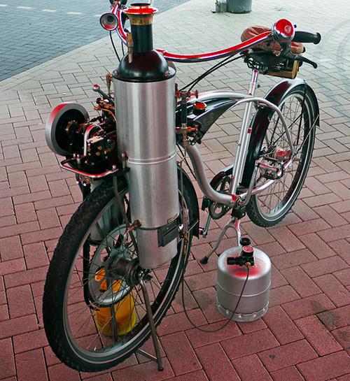Bici a vapore Doetinchem Stoom 997
