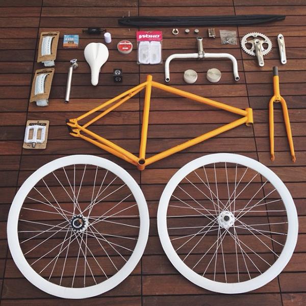 Componenti di una bici