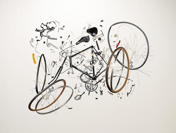Bici destrutturata