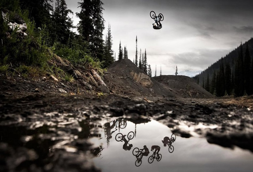 Mountain bike flip di Thomas Genon