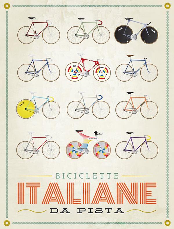 Biciclette italiane da pista