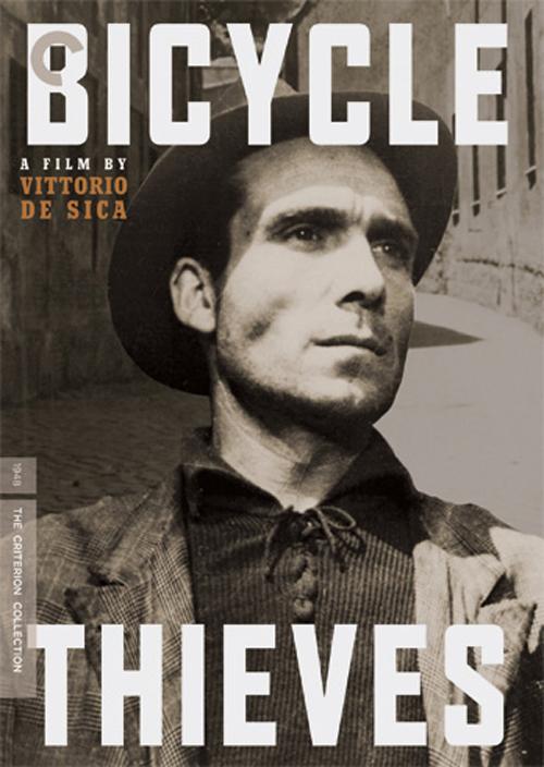 Locandina del film 'Ladri di biclette' di De Sica