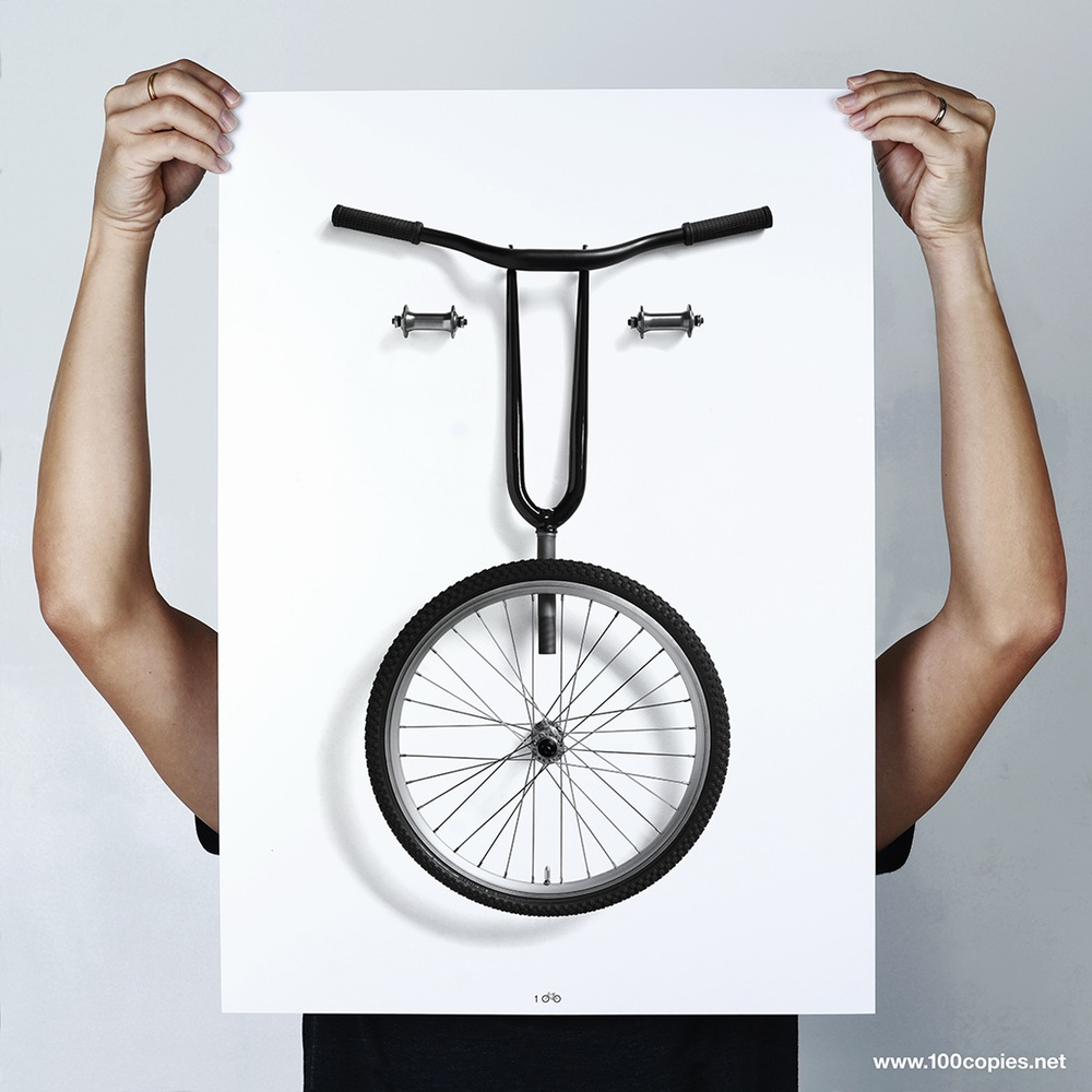 Un poster Bikemoji di Thomas Yang