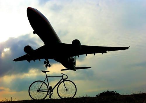Bici e aerei