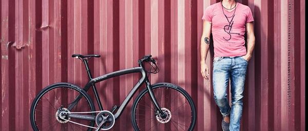 Una bici Blackbraid da 5kg