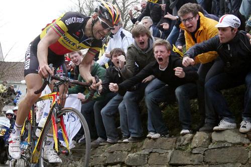 Tom Boonen al Giro delle Fiandre