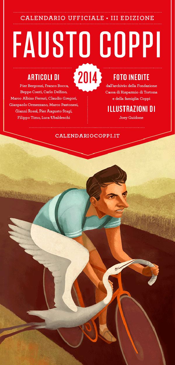 Il calendario di Fausto Coppi