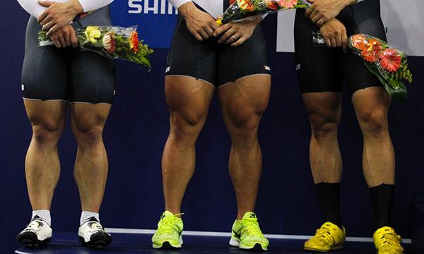 Robert Forstemann, Rene Enders e Maximilian Levy ai campionati del mondo su pista di Cali 2014
