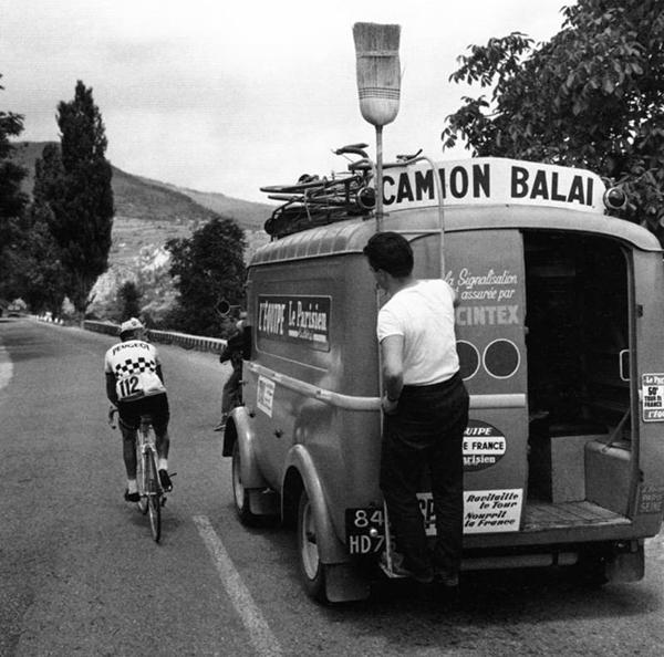 Camion balai al Tour de France