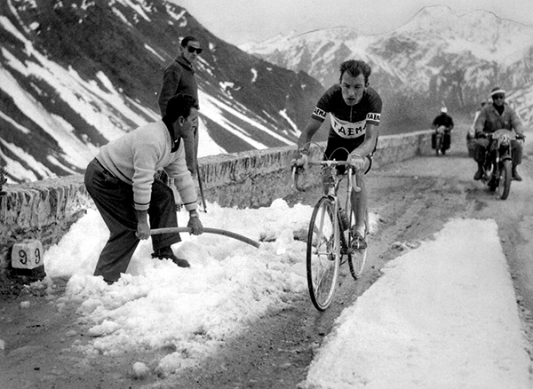 Charly Gaul al Tour 1958
