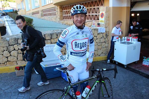 Cheng Ji  al Giro d'Italia 2013