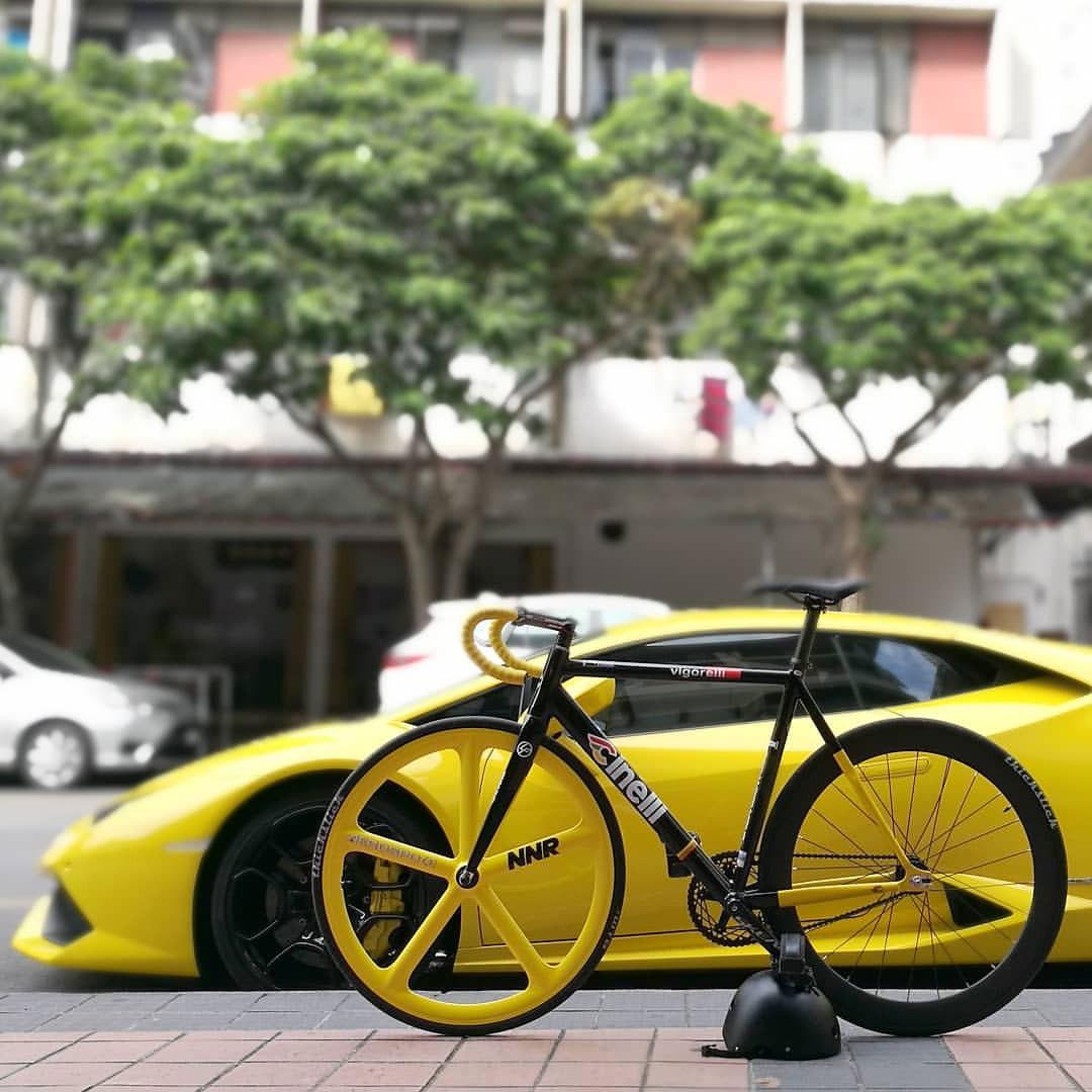 Cinelli Vigorelli e la Lamborghini