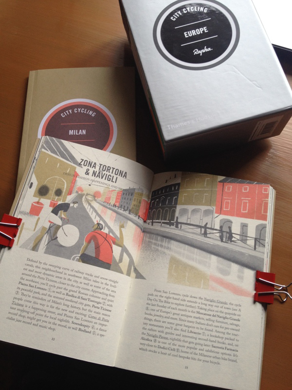 Le guide City Cycling Europe di Rapha