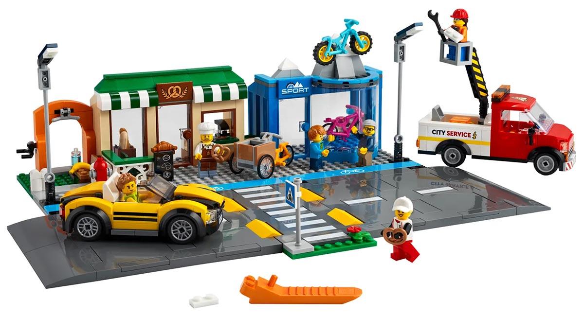 LEGO City Shopping Street