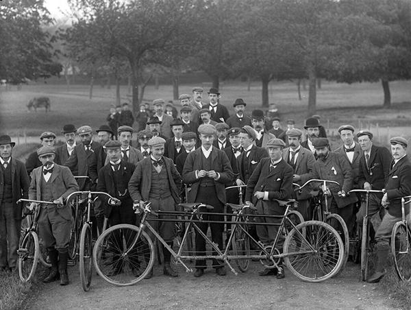 Club ciclistico irlandese nel 1897