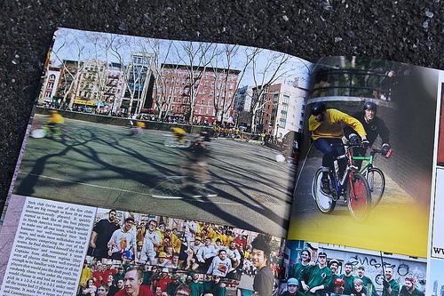 Una pagina di COG Magazine Issue 9