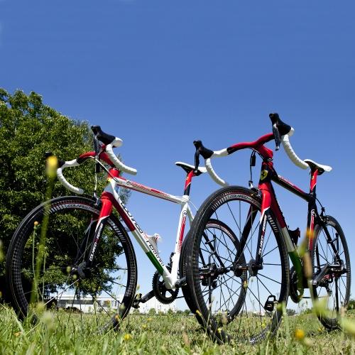 La bici Colnago Ferrari