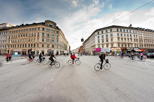 Bici a Copenhagen