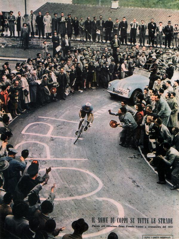 Fausto Coppi al Gran Premio Vanini