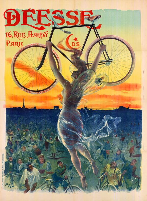 Manifesto bici Déesse