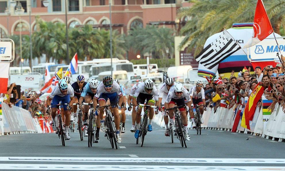 Sagan, Cavendish e Boonen in volata a Doha 2016