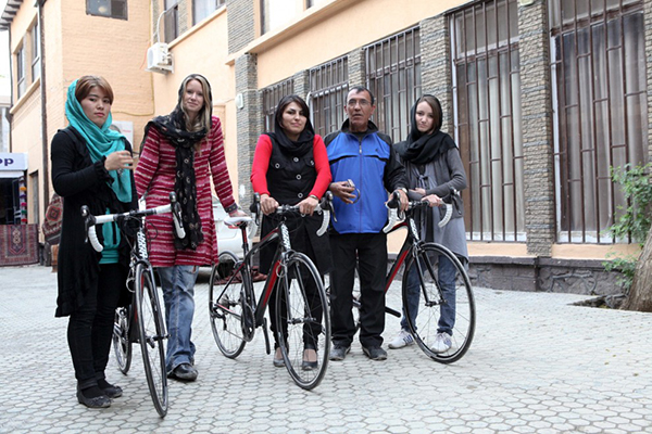 Squadra afgana femminile di ciclismo