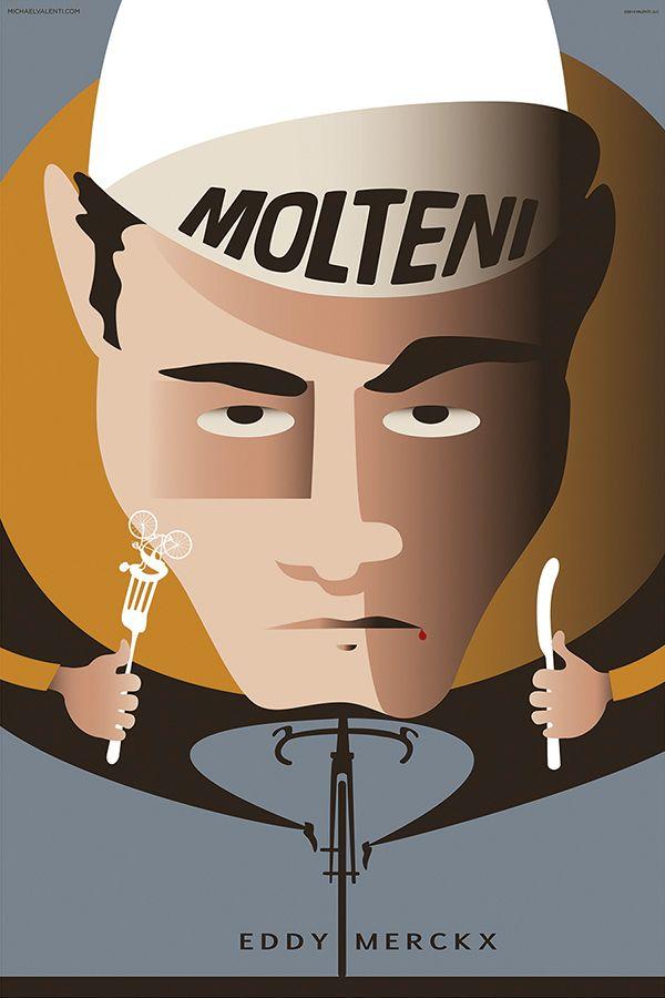 Eddy Merckx di Michael Valenti