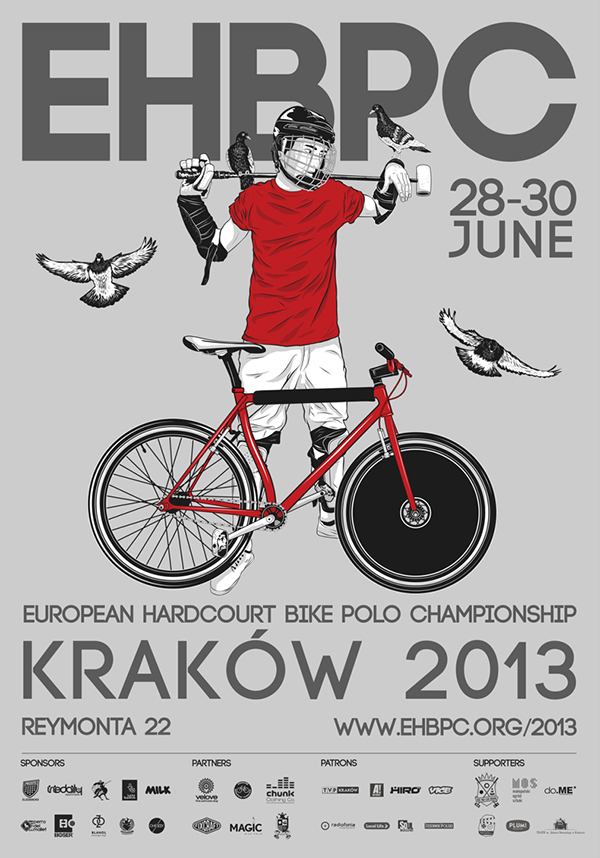 Il campionato europeo di bike polo 2013