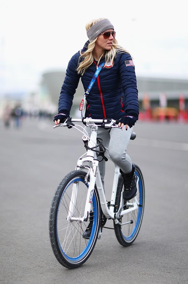 Emily Scott a Sochi 2014