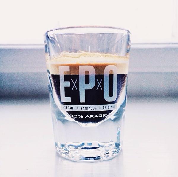 Tazzina di caffè EPO 100% arabica
