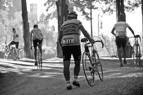 Ciclisti all'Eroica