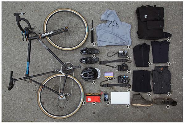 Il kit da ciclista urbano
