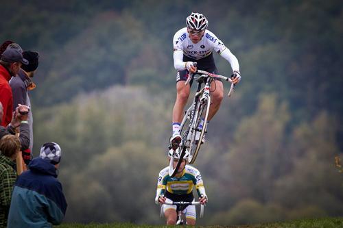 Una prova di ciclocross