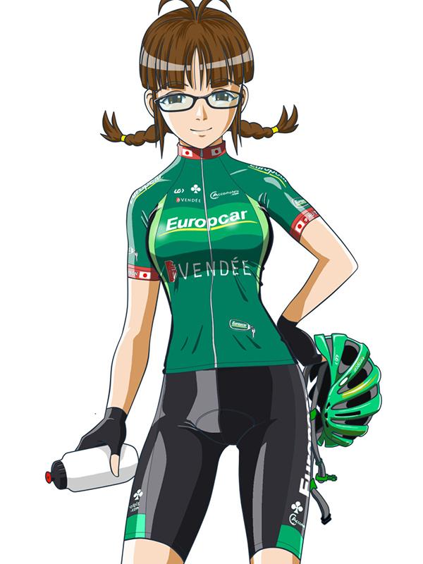Europcar manga ragazza