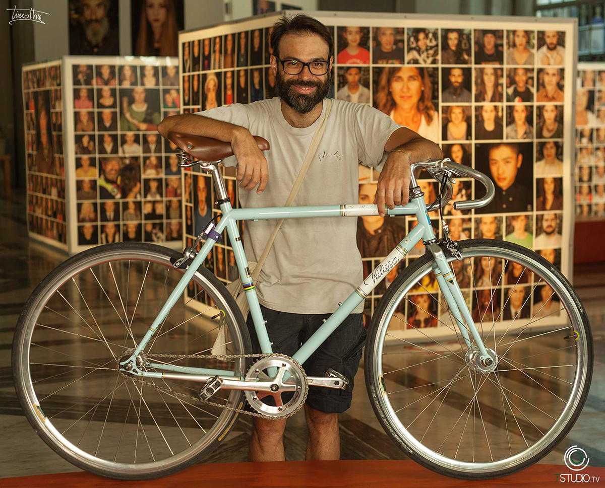 Facebike fotografa i ciclisti di Genova