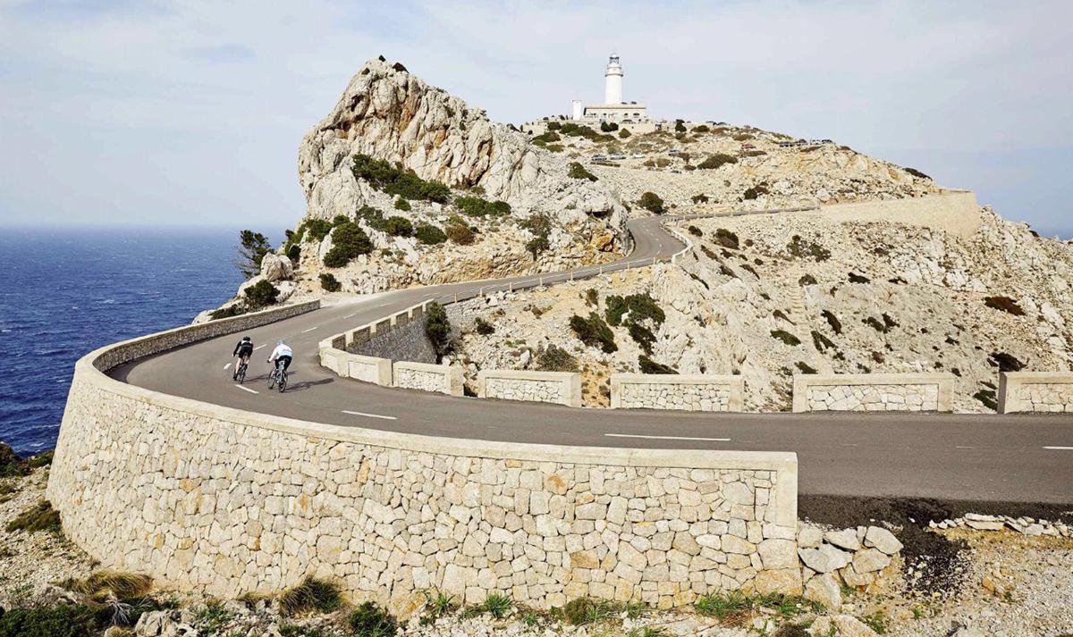 La corsa sino al Faro di Capo Formentor a Maiorca