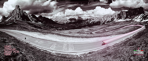 Le Dolomiti al Giro d'Italia