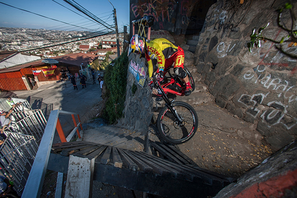 Filip Polc al Red Bull Valparaiso Cerro Abajo
