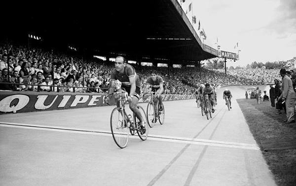 Fiorenzo Magni al Giro delle Fiandre