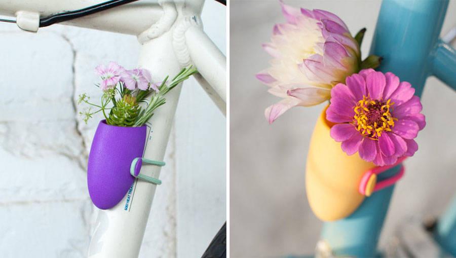 Fioriere da bici di Colleen Jordan