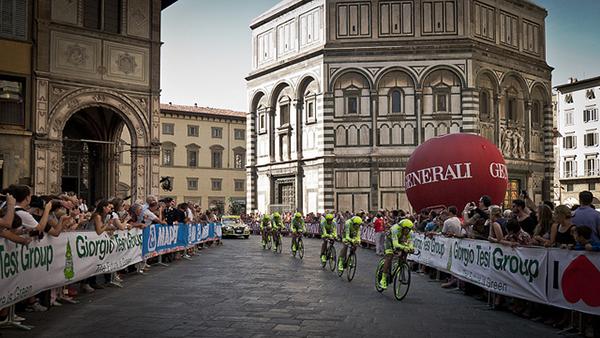 Cannondale Pro Cycling alla crono a squadre di Toscana 2013