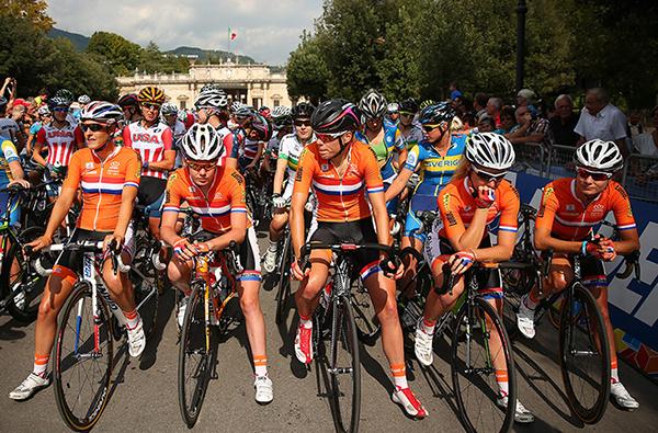 La squadra olandese a Firenze 2013