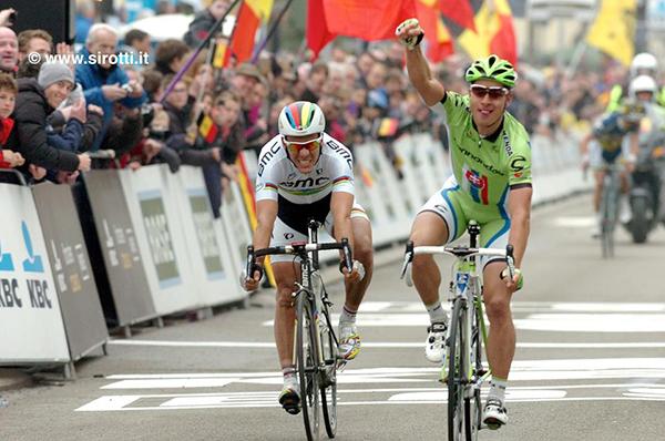 Sagan alla Freccia del Brabante 2013